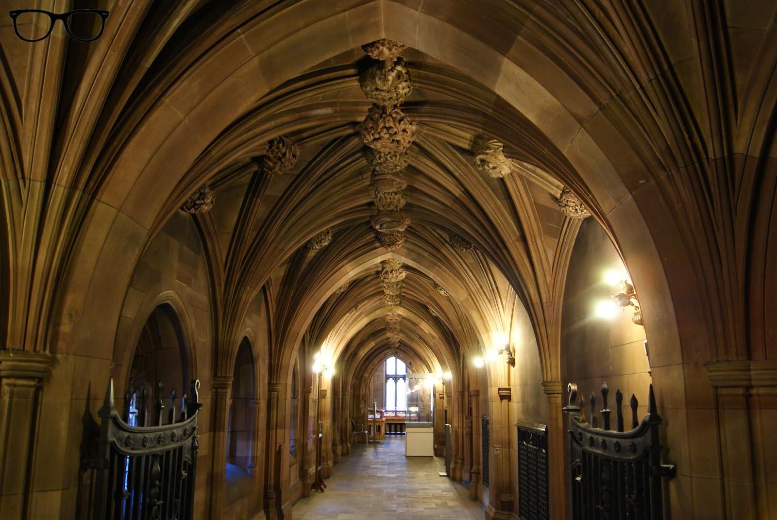 Interior biblioteca John Rylands