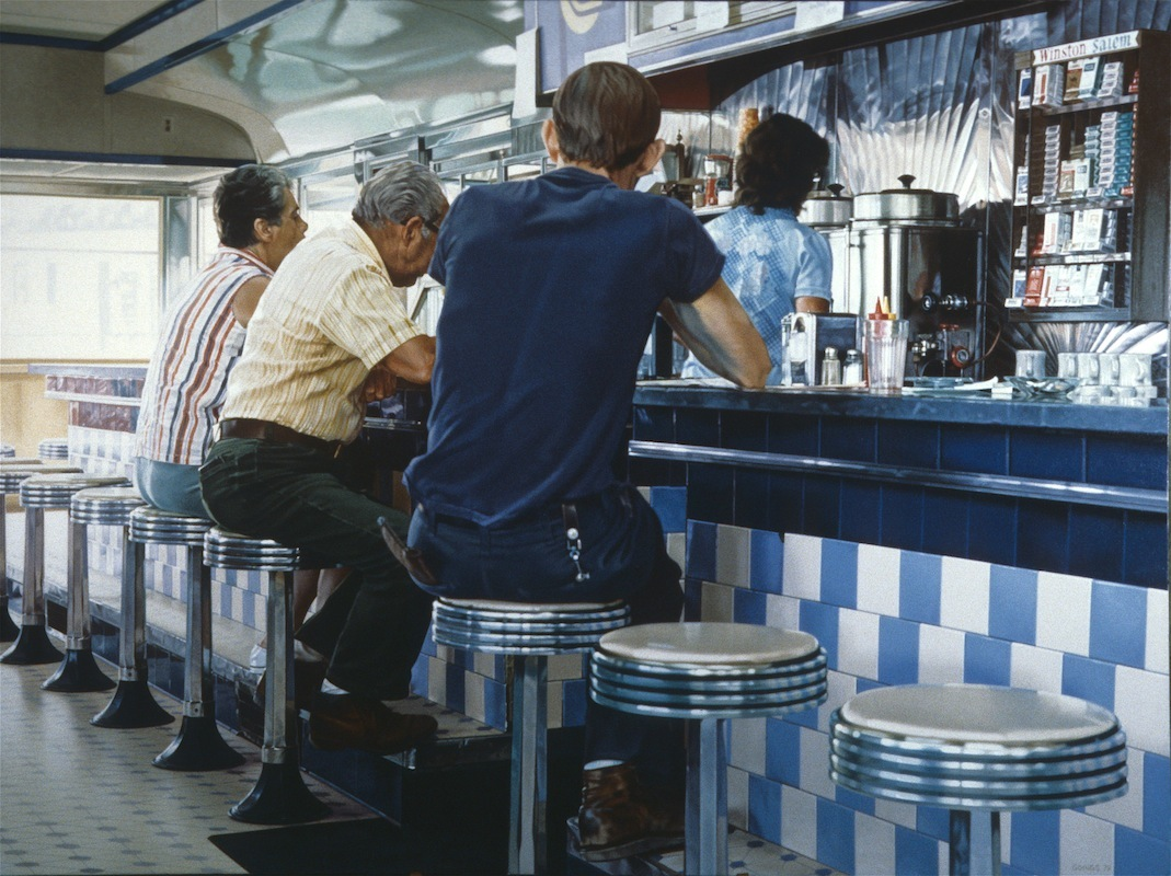 14-Tiled-Lunch-Counter-Ralph-Goings-Hyper-Realistic-Paintings-of-Everyday-Scenes-www-designstack-co
