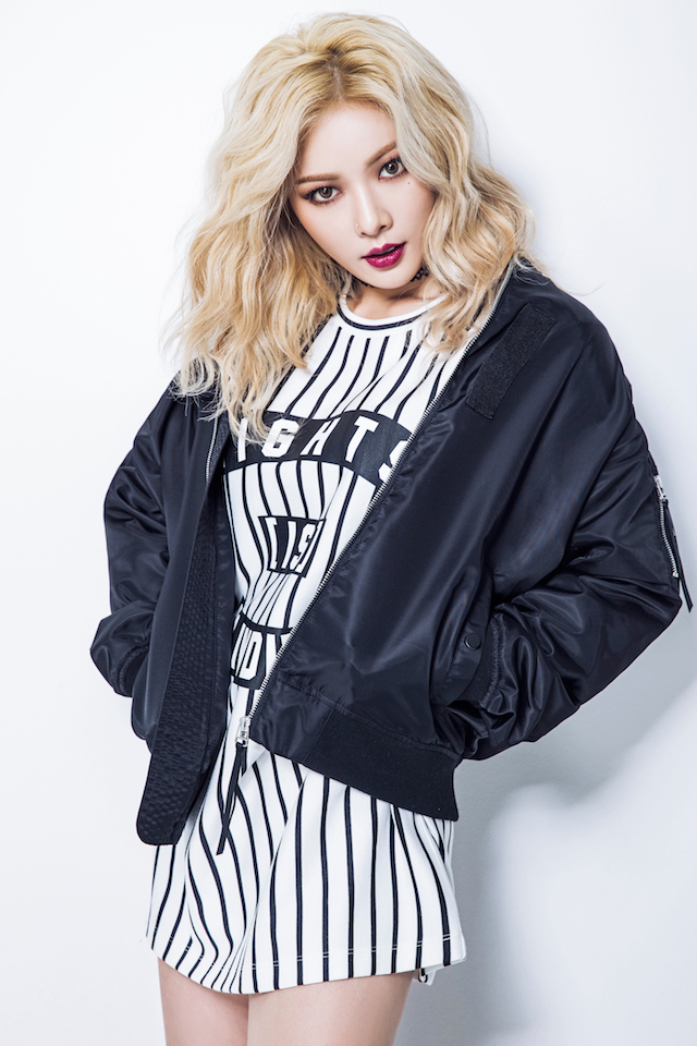 HyunA, one of the biggest artists in the booming K-Pop scene will be at this year's H-Artistry