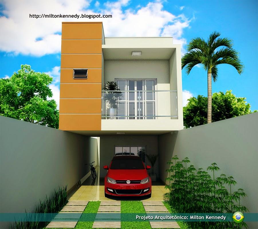 Plantas de casas para construir com 3 quartos e garagem for Hacer casas online