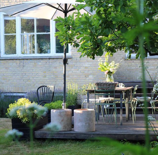 Terrassen hos Plantebegejstring
