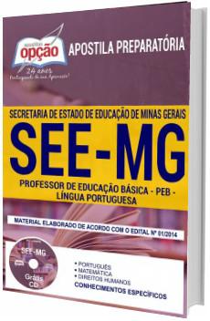 Apostila Concurso SEE-MG 2018 Professor de Língua Portuguesa