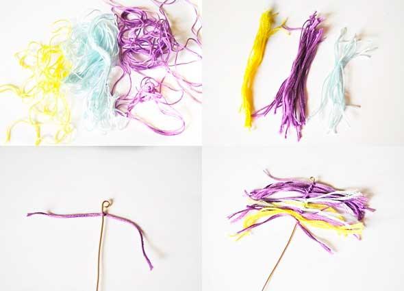 colgantes, creativos, alambre, hilos, bisutería, necklaces, diys, manualidades