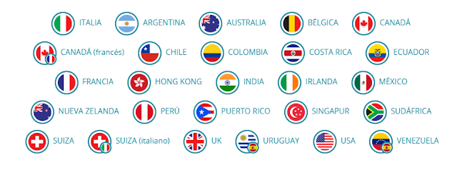 Banderas de paises Surveyeah