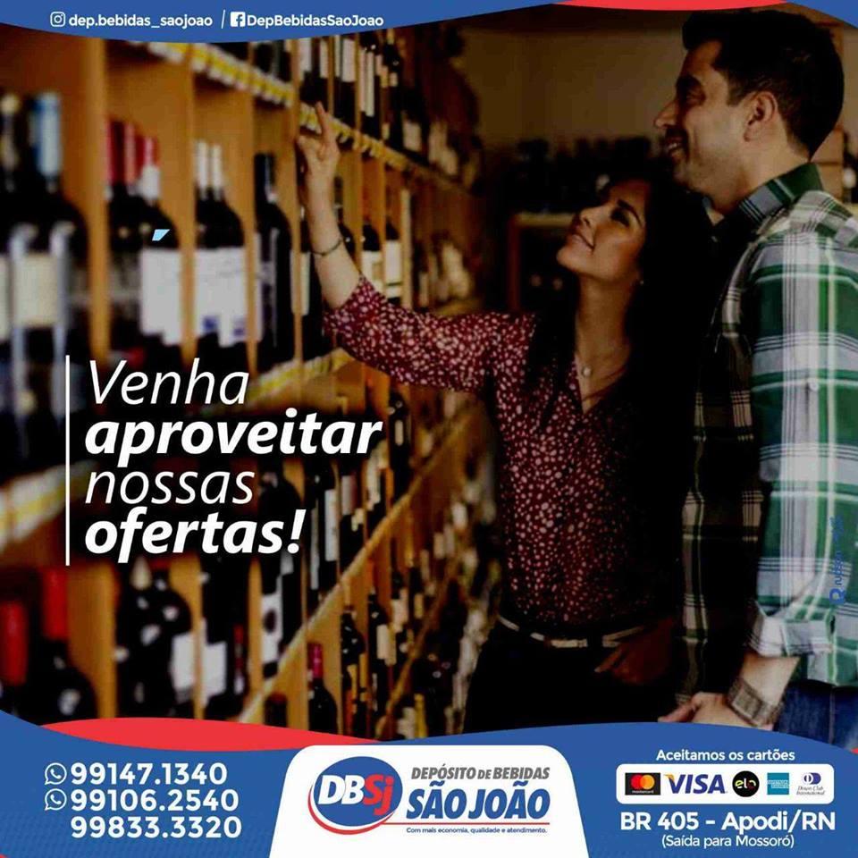 informe publicitário  Depósito de Bebidas São João - venha aproveitar  nossas ofertas! 5ec4c39ded7