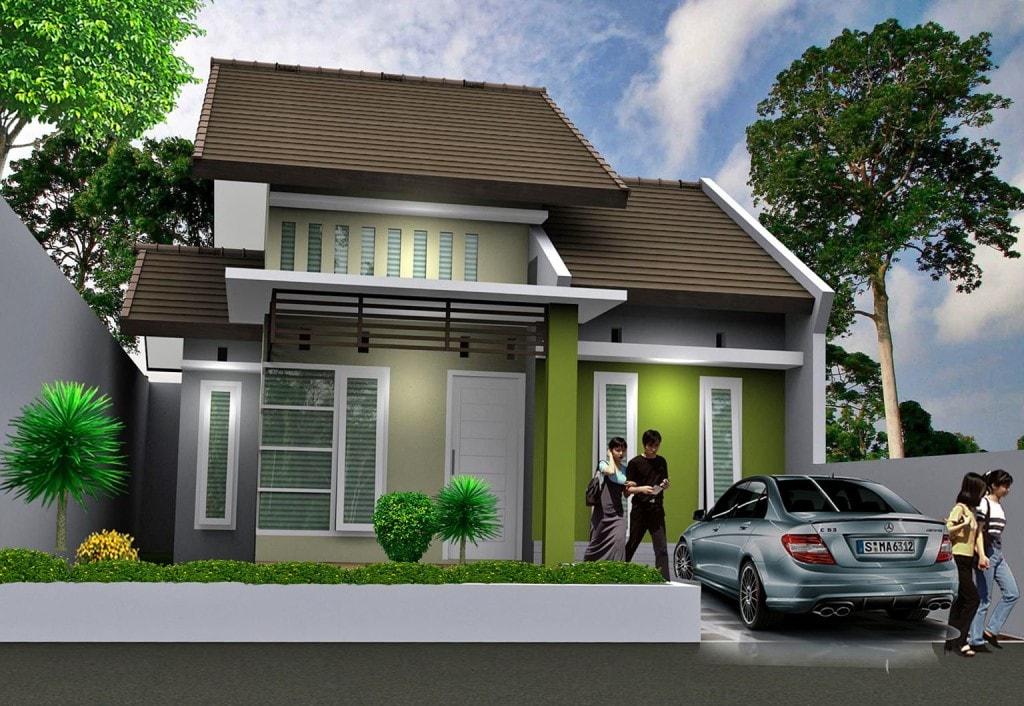 25 Rumah Sederhana Minimalis Type 36 Beserta Denahnya ...