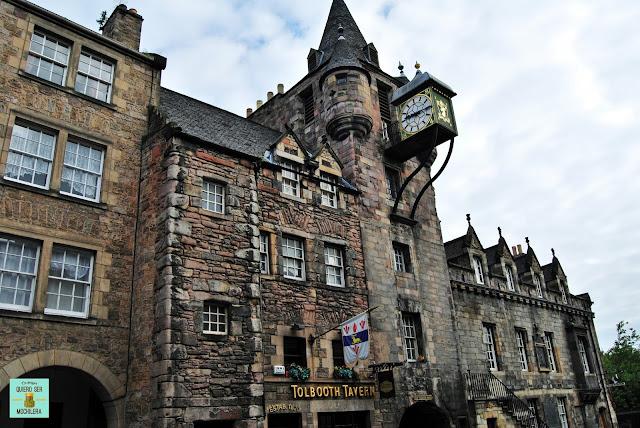Taverna en la Royal Mile, Edimburgo