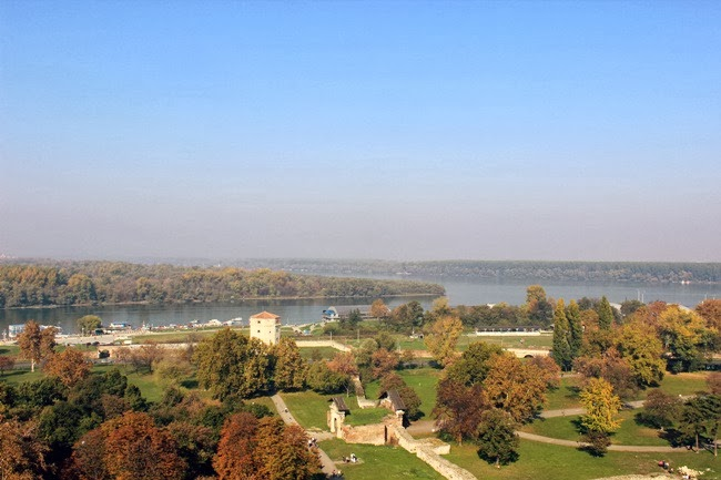 Kalemegdan pogled na reku