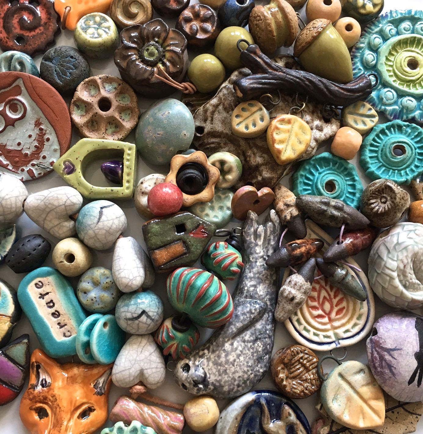 Ceramic Bead Beads: » Ceramic Art Bead Buying Guide