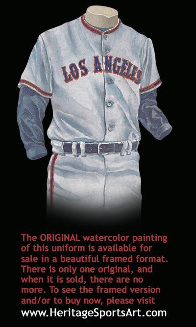 los angeles bda0b 9f468 Los Angeles Angels of Anaheim Uniform and Team History ...