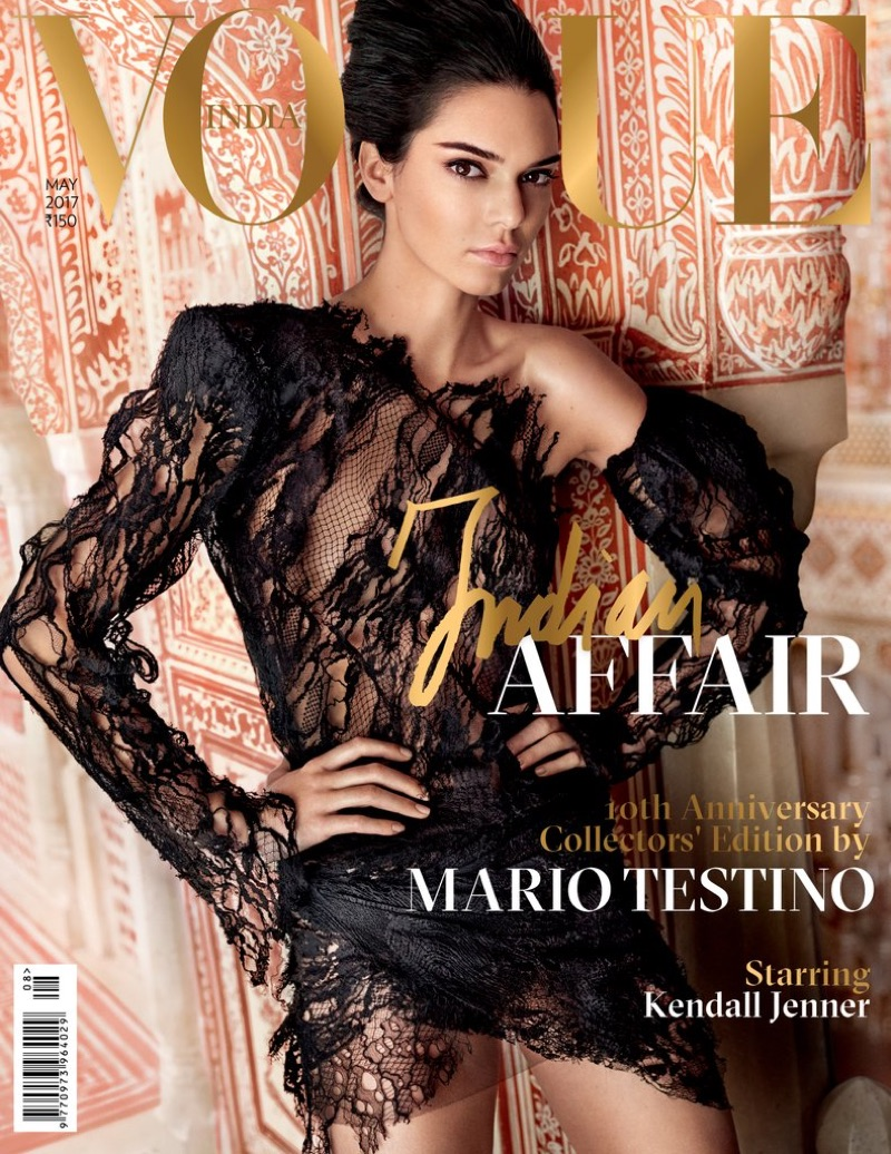 Kendall Jenner stars on Vogue India's 10th Anniversary edition