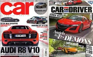 Κυριακάτικος ανταγωνισμός (και) με περιοδικά αυτοκινητού