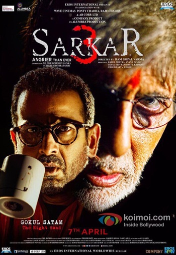 Sarkar 3 (2017) Hindi 720p DVDScr 850mb