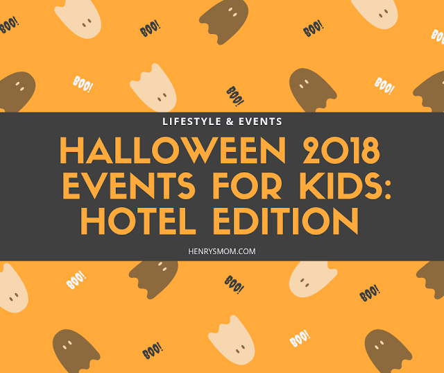 Halloween 2018 Events for Kids: Hotel Edition