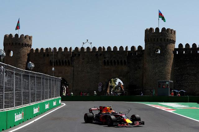 FÓRMULA 1: Treinos Livres do GP do Azerbaijão de Fórmula 1