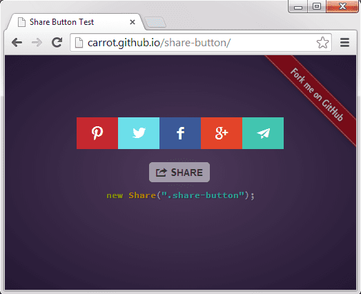 10 Free jQuery Social Sharing Plugins | jQuery By Example