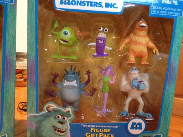 Dan The Pixar Fan Monsters Inc Electronic Factory