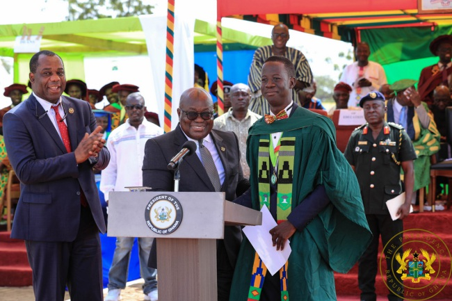"""UDS Wa, Navrongo Campuses To Become Autonomous Universities"" – President Akufo-Addo"