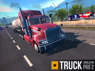 Truck Simulator PRO 2 Apk v1.6 Mod Free Shopping Premium Terbaru