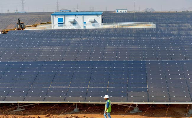 World's Largest Solar Park situated in India, Karnataka