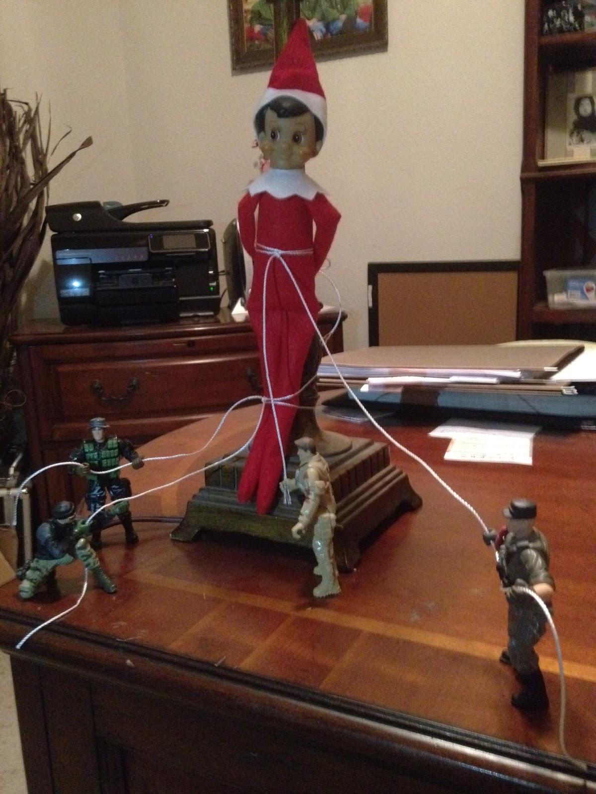 Elf Shelf Ideas Barbies