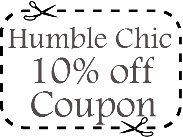 Humble Chic Promo Code 10% off March, April, May, June, July, August 2021