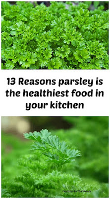 Parsley | health benefits