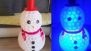SNOWMAN of CUPS | Amazing Holiday DIY Projects