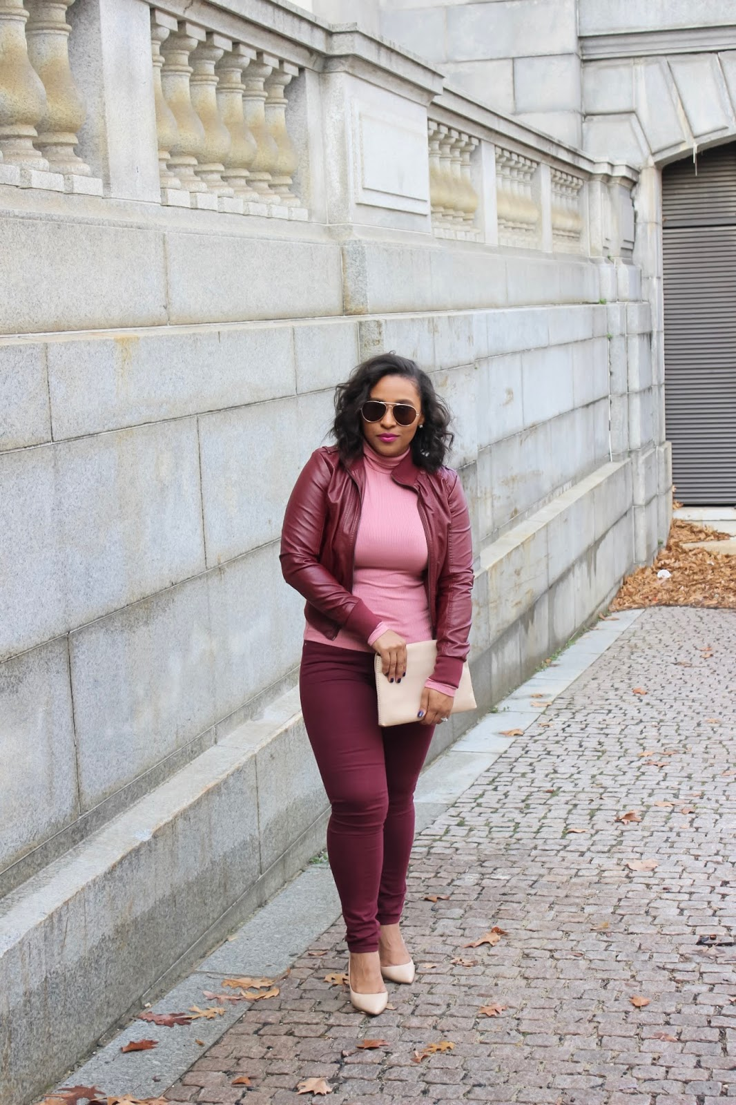 monochrome, pink outfit, the monochrome trend, how to wear monochrome, monochrome outfits