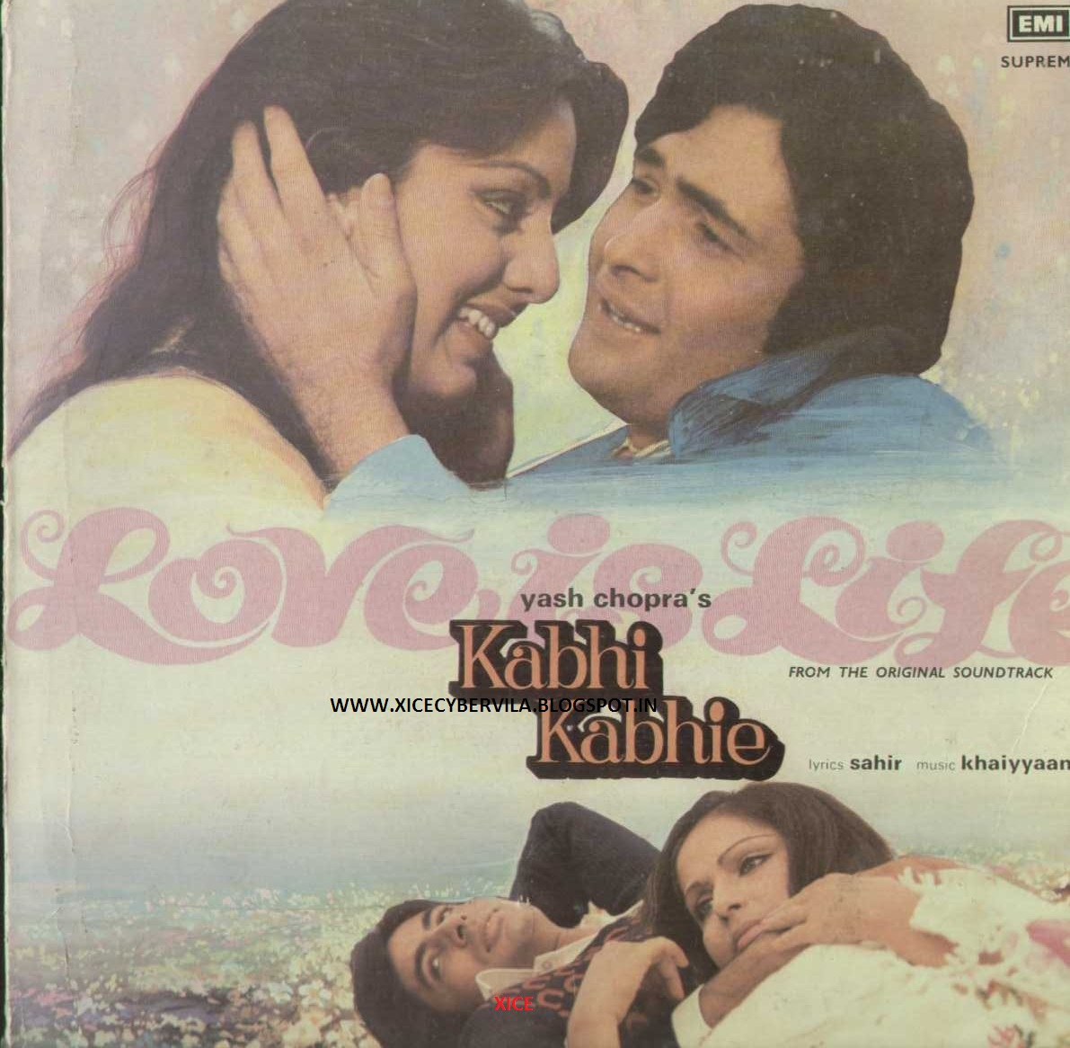 COLLEGE PROJECTS AND MUSIC JUNCTION: KABHI KABHIE (1976) / OST VINYL