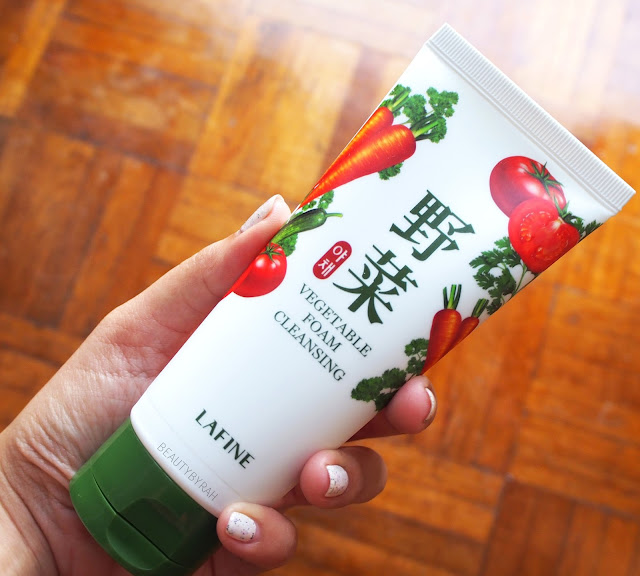 Lafine-Vegetable-Foam-Cleanser-Review