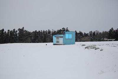 群馬県 昭和村 雪景色