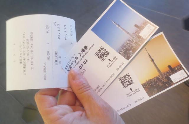 Tokyo Skytree - Tickets; Eintrittskarten Tokio Skytree