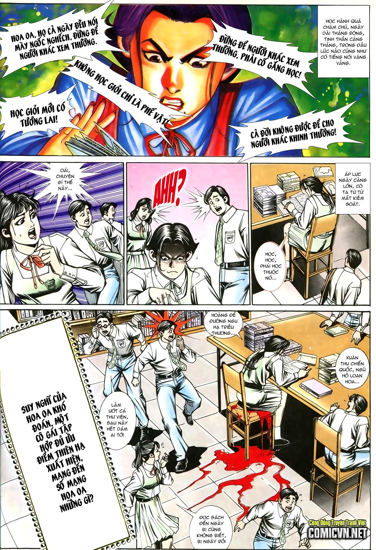 Người Trong Giang Hồ chapter 207: nhật ký đau lòng trang 31