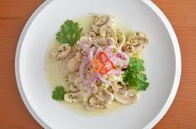 ceviche vegano a lo peruano