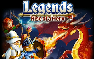 Legends: Rise of a Hero Facebook game