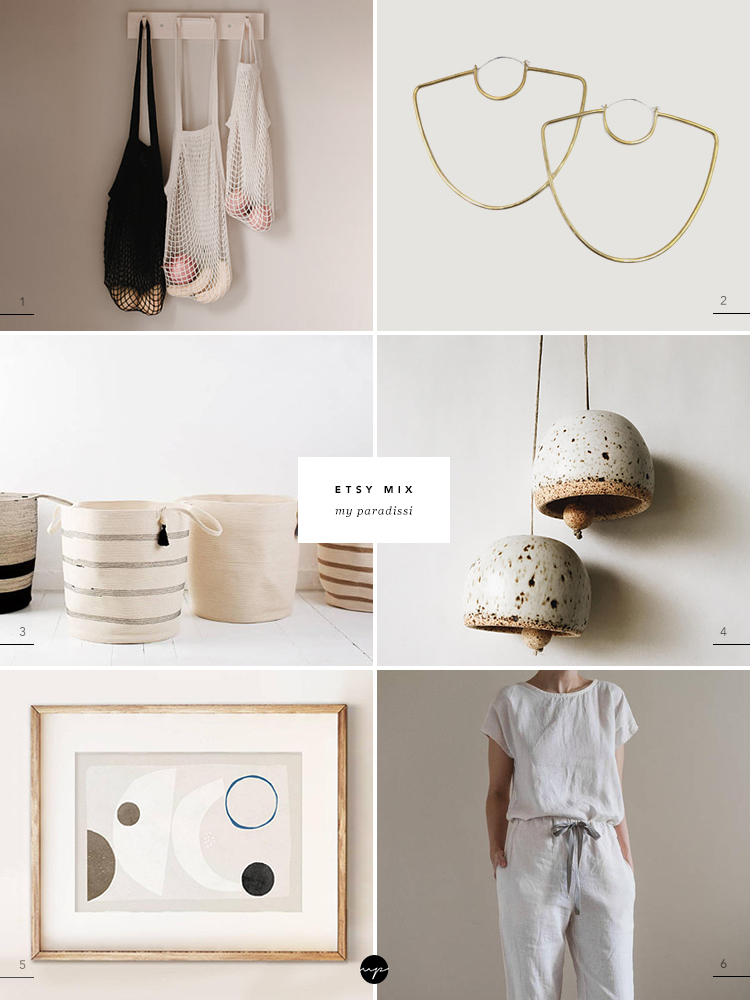 Etsy Mix curated by Eleni Psyllaki for My Paradissi