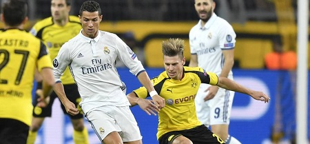 Assistir Real Madrid x Borussia Dortmund ao vivo grátis em HD 06/12/2017