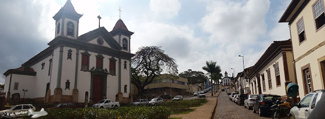 Praca Cleves Faria, Centro de Santa Barbara, Minas Gerais