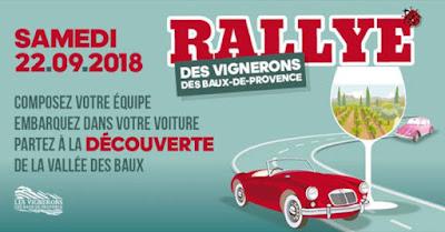 agenda evenements vin septembre 2018 blog beaux-vins 2018 vins rallye vignerons baux-de-provence