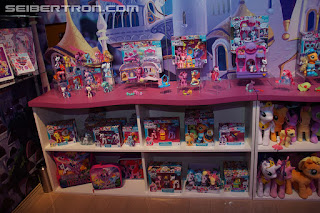 My Little Pony Brushables Display