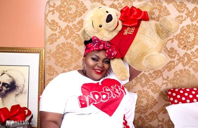 Eniola Badmus Shares Some Beautiful Valentine Photos