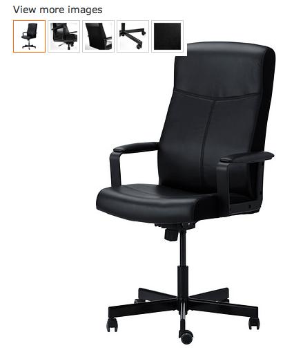 Necesito con urgencia silla nueva for Sillas escritorio ikea