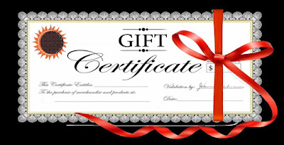 Diy Christmas Gift Certificate Template Zsaoi
