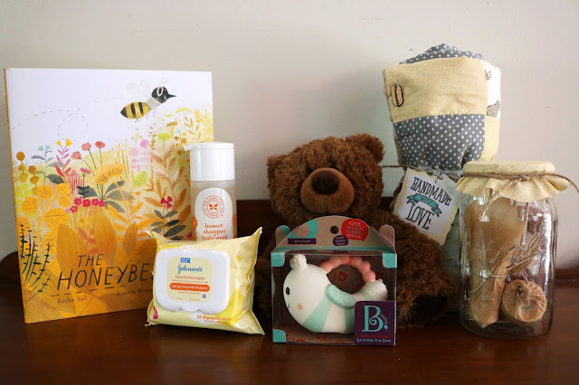 Honey Themed Baby Basket