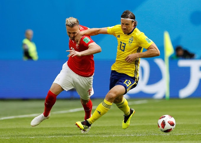 Suecia eliminó a Suiza