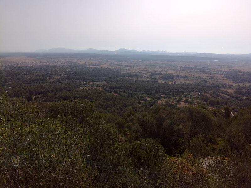 Vista dall'Ermita de Bonany