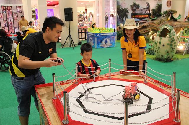 Robopark Indonesia Menghadirkan Wahana Robo Games