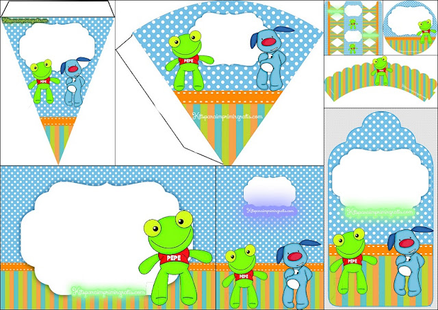 Pepe the Frog: Free Printable Mini Kit.
