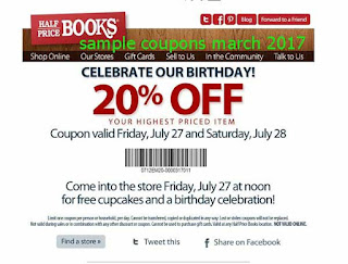 Half Price Books coupons march 2017